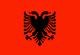 阿爾巴尼亞 Flag