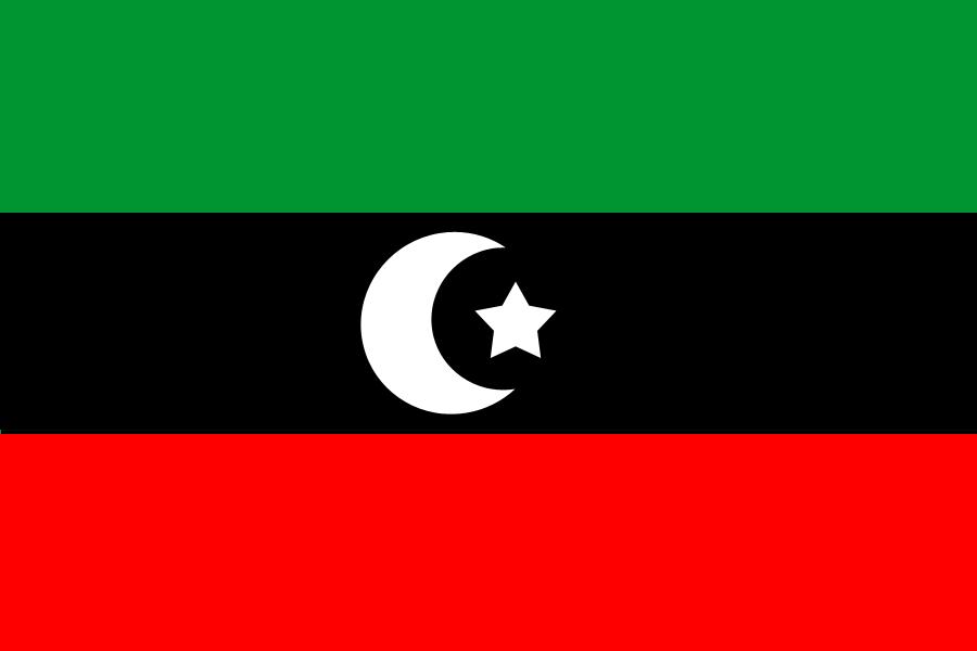 利比亞 Flag