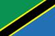 坦桑尼亞 Flag